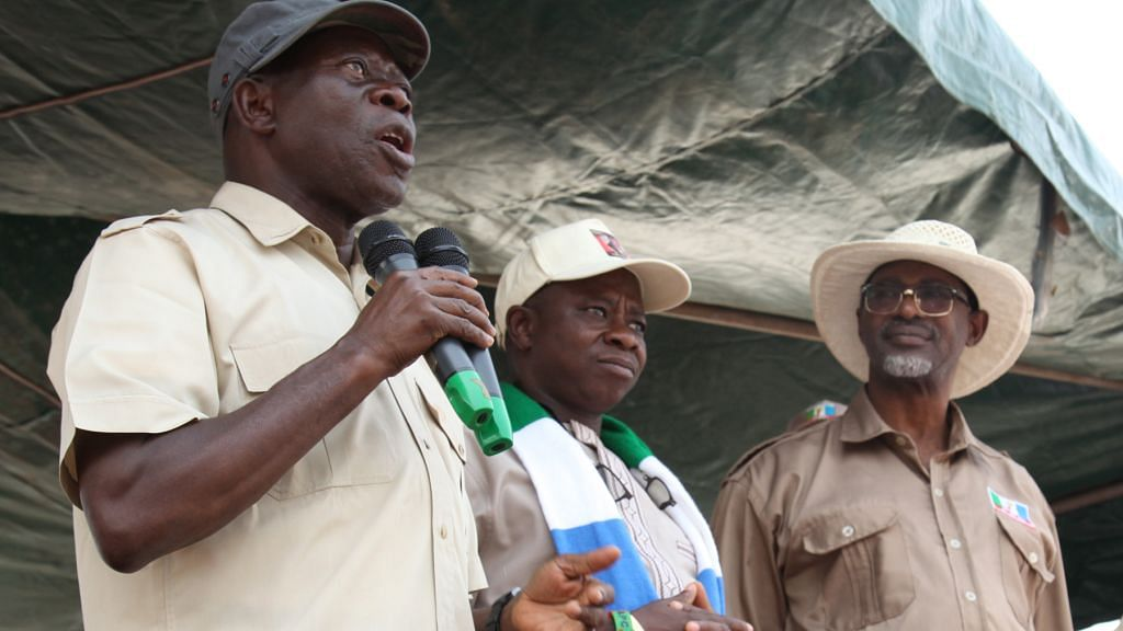 """They Can't Stop Us,"" Oshiomhole Boasts As APC Receives Defectors"