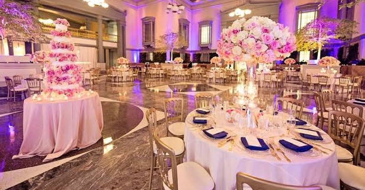 The venue of your wedding is a huge factor in it's memorability