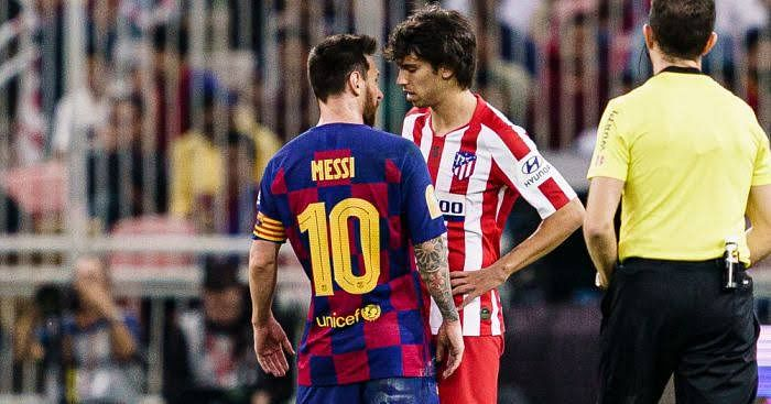 Joao Felix Involved In Heated Argument With Lionel Messi