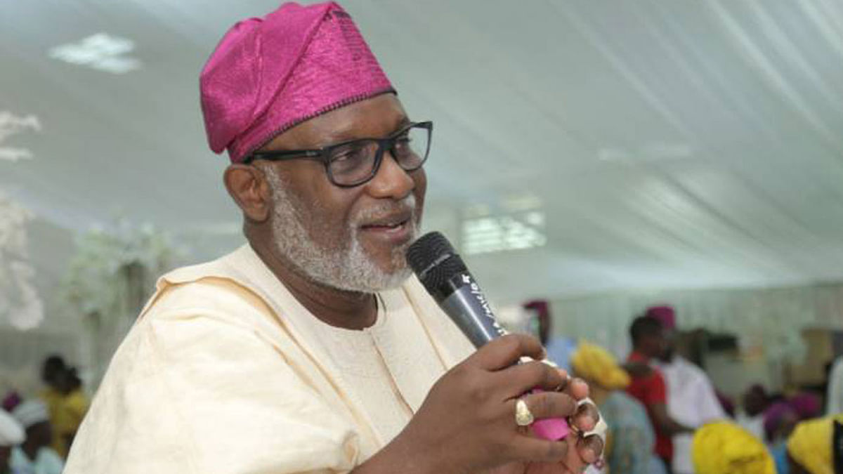 """The Presidency Didn't Summon Six Of Us,"" Says Akeredolu"