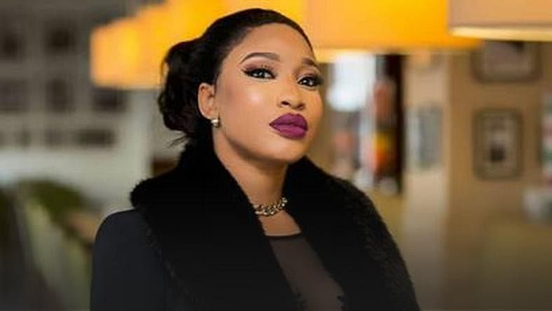 """Tonto Dikeh Bought An Audio Bentley,"" Uche Maduagwu Claims"