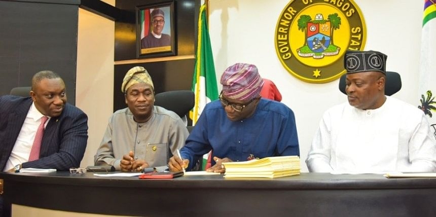 Sanwo-Olu Signs N1.17 Trillion 2020 Budget Into Law