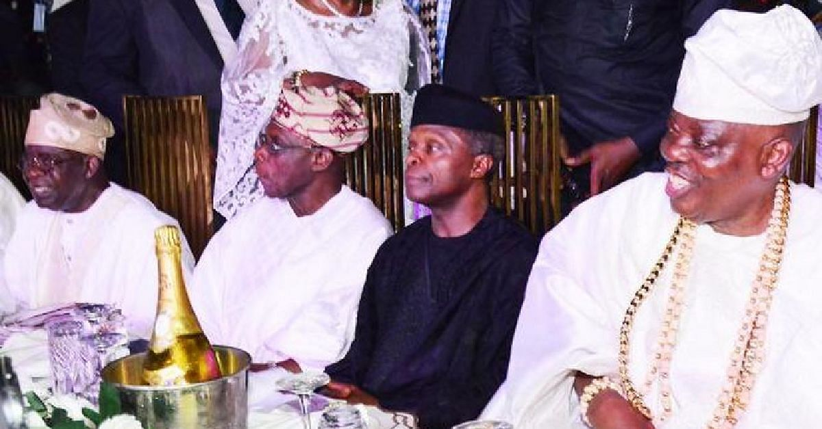 Osinbajo, Obasanjo Honour Okoya On His 80th Birthday
