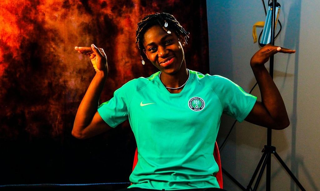 I Want To Create My Own History - Asisat Oshoala