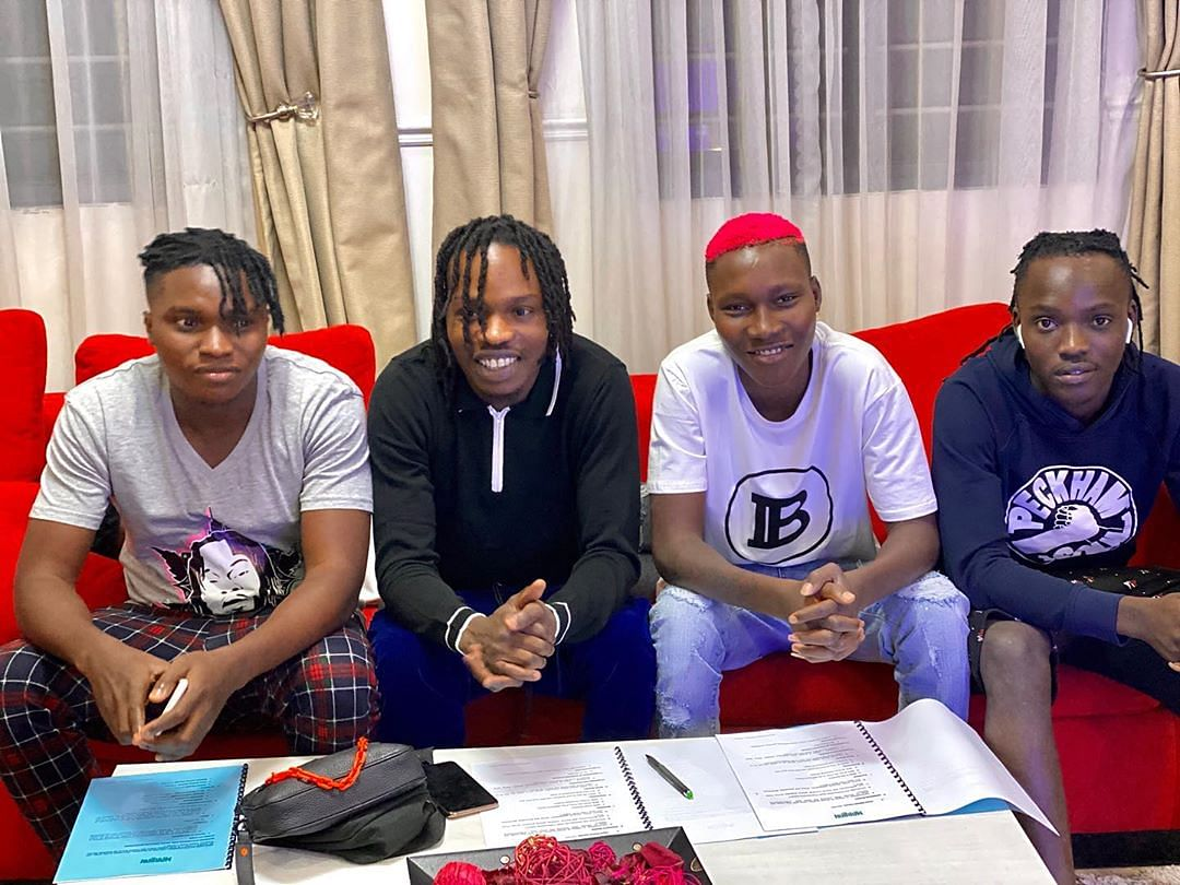 Naira Marley Signs Zinoleesky, 3 Others To Record Label