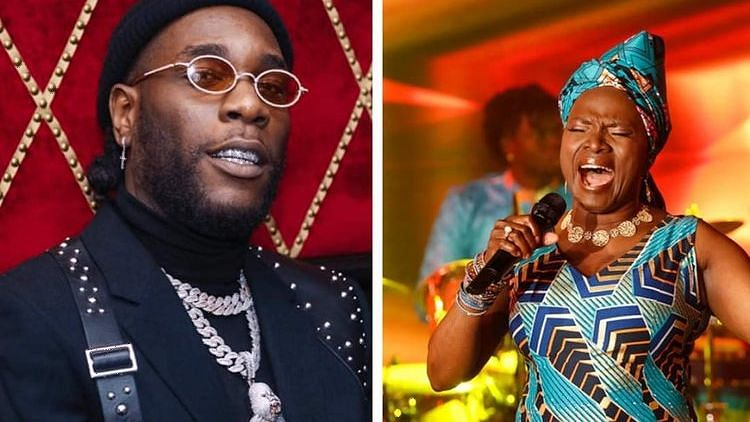Angelina Kidjo Dedicates Grammy Award To Burna Boy