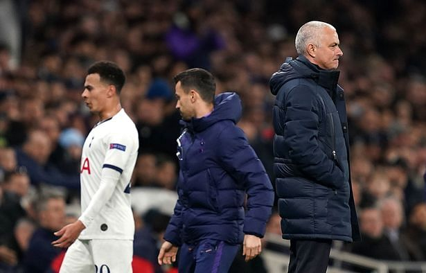 Dele Alli Was Angry At Himself Not Me - Jose Mourinho
