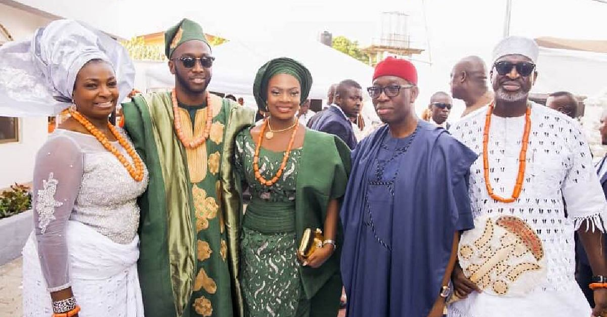 Okowa, Abiodun, Others Attend Wedding Of Chike Ogeah's Son