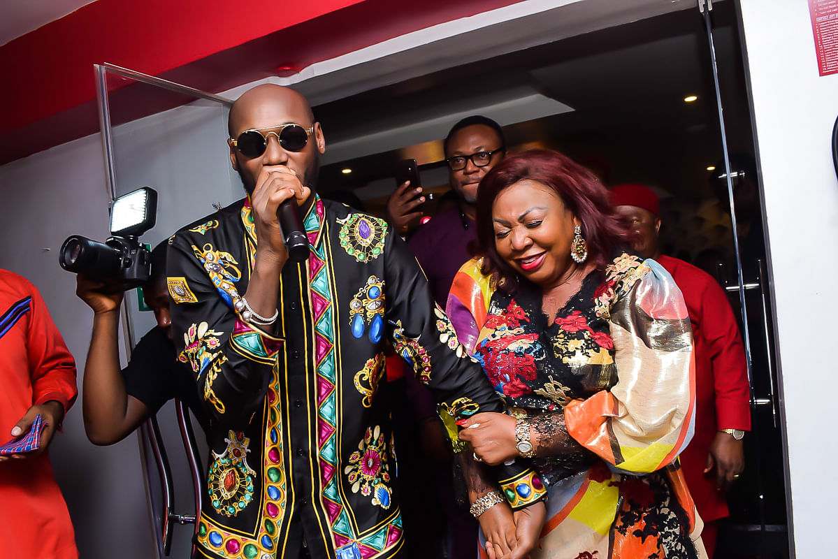 2Face performing at the  party