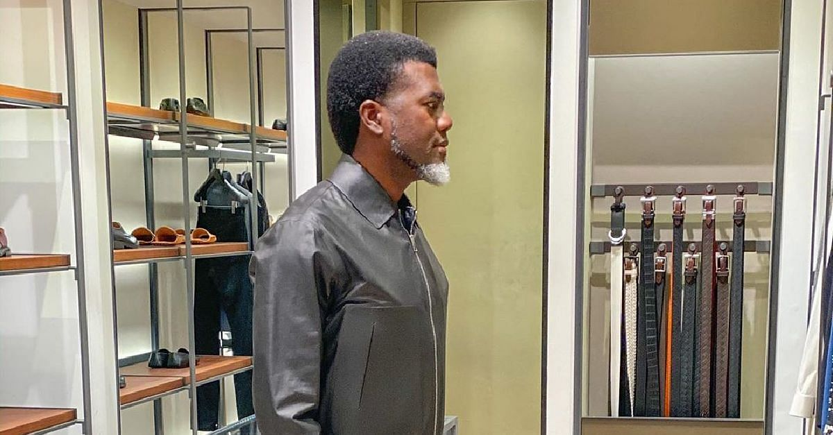 Read Reno Omokri's Priceless Advice to Youths On Wealth And Enjoyment