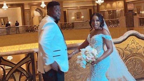 Glimpse From The Adewale Adeleke White Wedding Ceremony