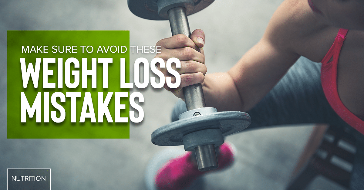 5 Common Weight Loss Mistakes People Make