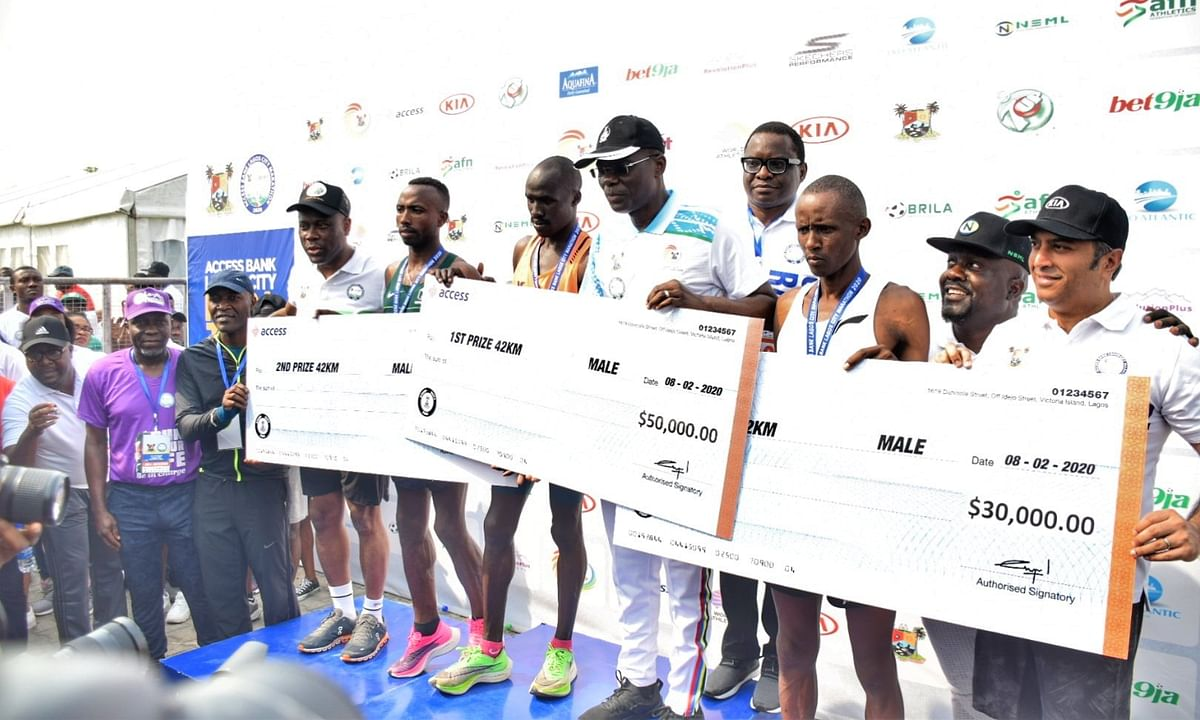 Photo Story: Access Bank Lagos City Marathon 2020