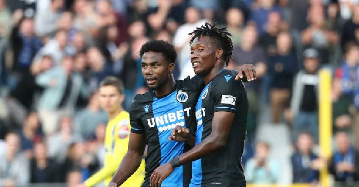 Two Nigerian Strikers Named In Club Brugge's Squad To Face Man United