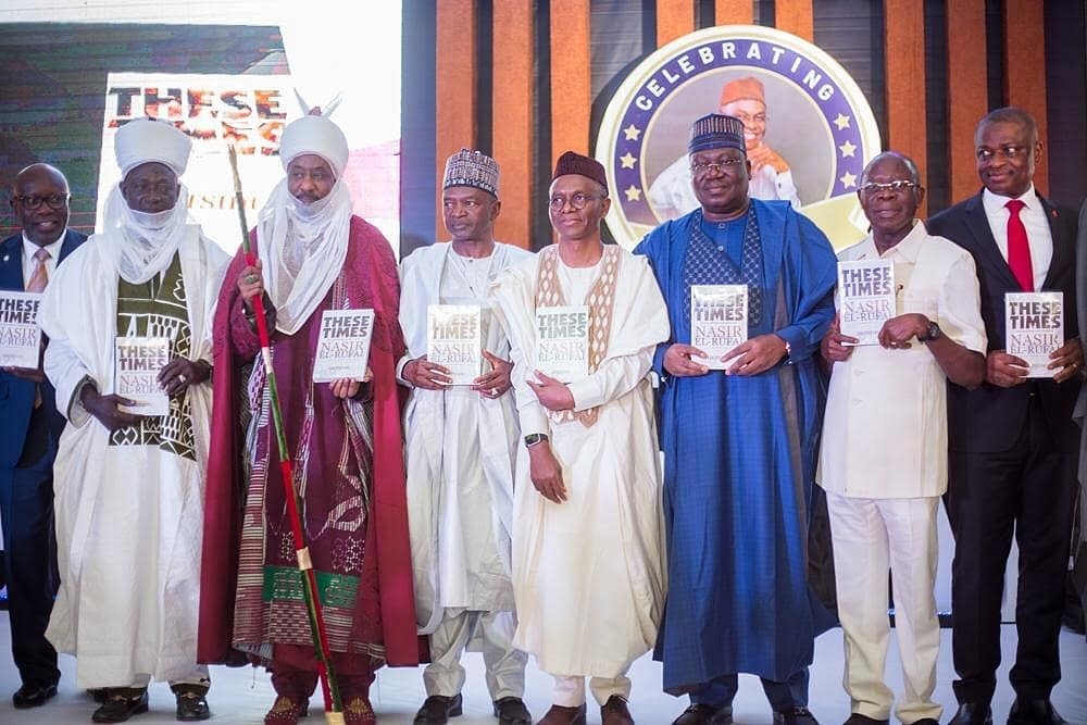 Kaduna Governor, Nasir El-Rufai, Marks 60th Birthday With Book Launch
