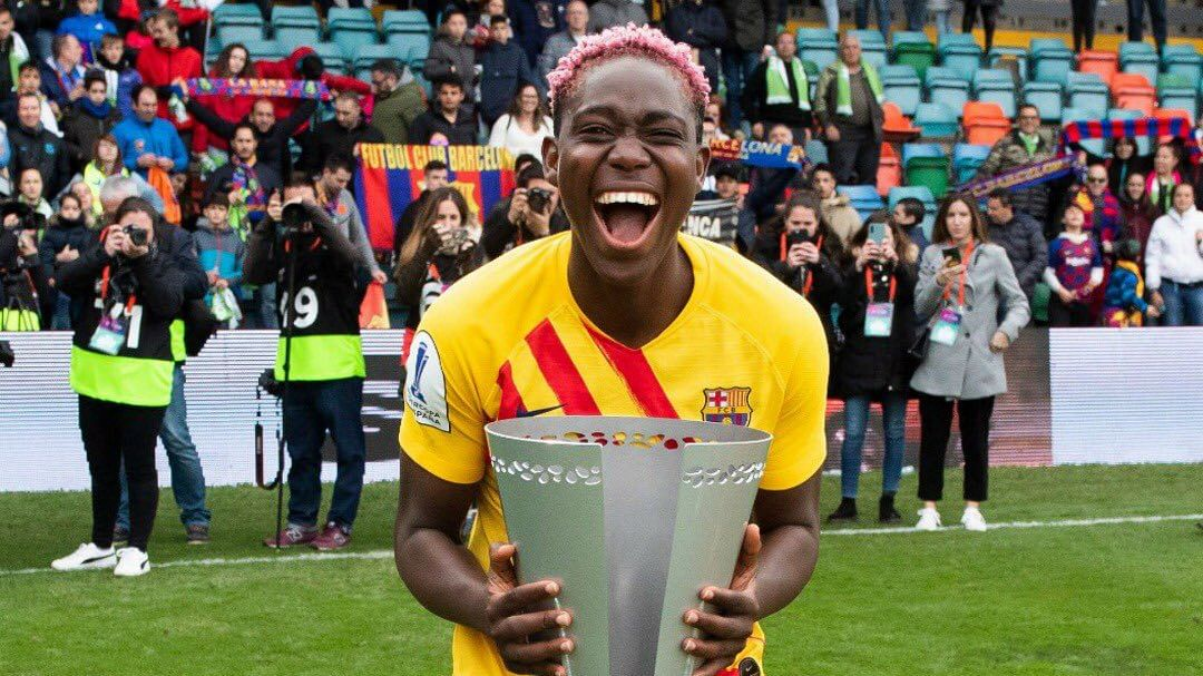 Asisat Oshoala Hungry For More Success With Barcelona