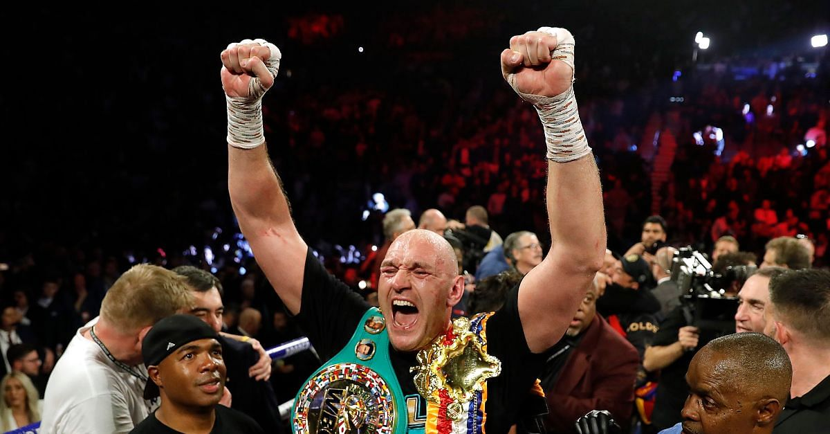 See What Tyson Fury's Coach Told Him At The 7th Round