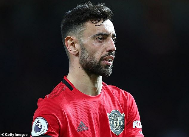 Bruno Fernandes in his debut match