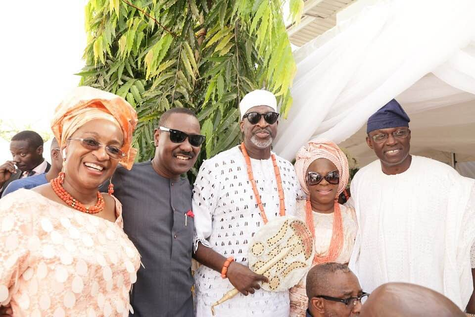 Eminent Personalities Grace Wedding Of Chike Ogeah's Daughter In Lagos (Photos)