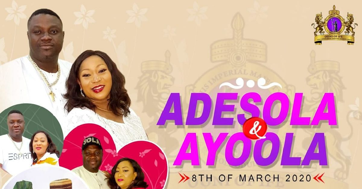 Adesola and Ayoola