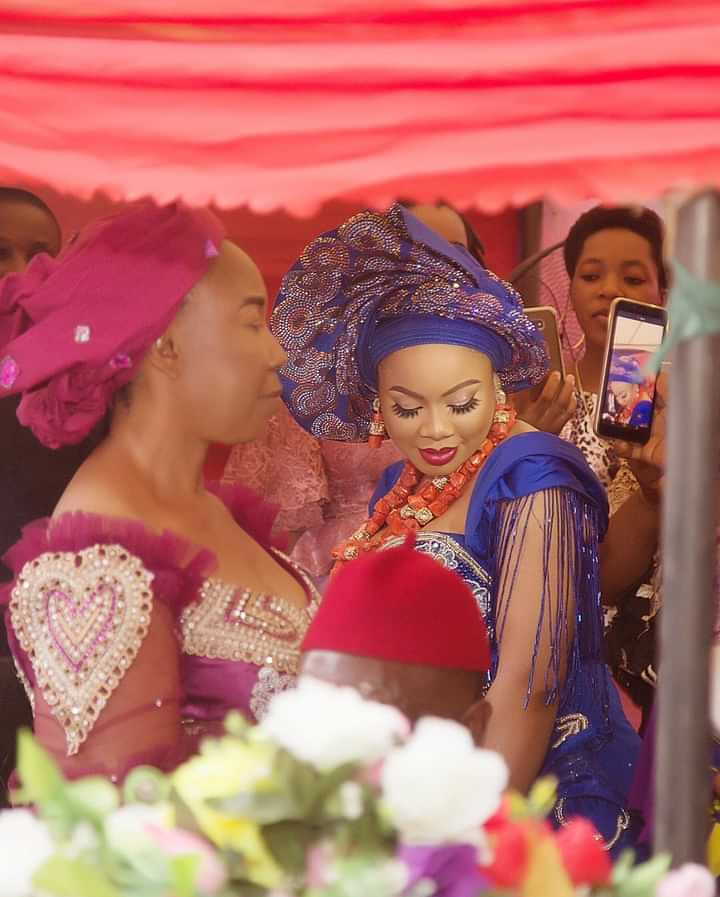 Pictures From Nina Ivy's Traditional Wedding