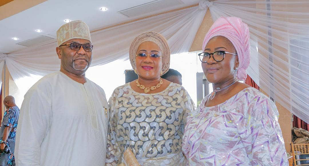Former Ogun Speaker, Titi Oseni, and Jumoke Okoya-Thomas