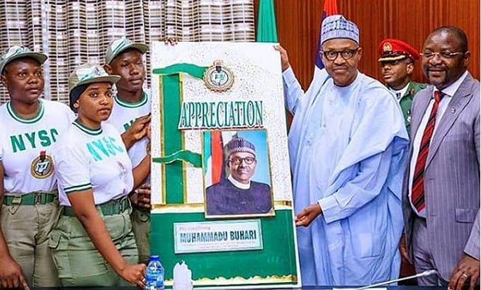 Buhari Praises NYSC Scheme For Encouraging National Integration