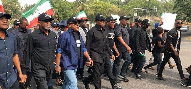 Protest: PDP Undeterred By Uzodinma's Warning