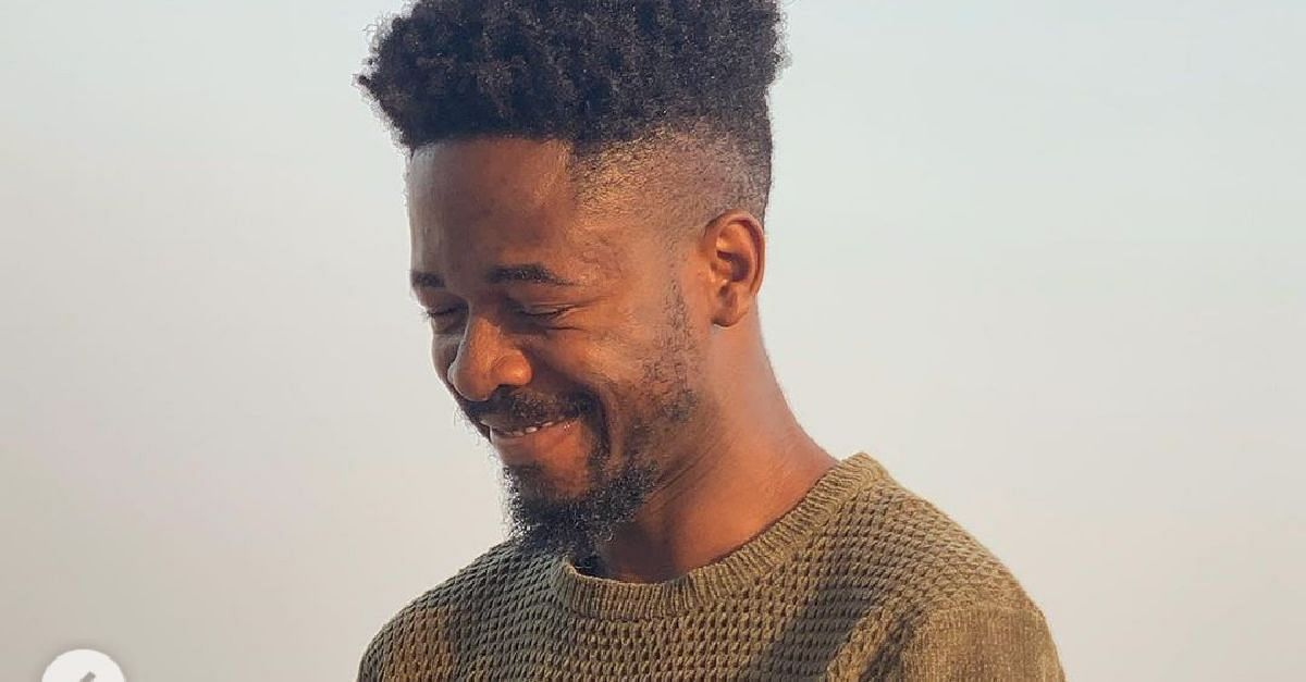 Even If I look like I Am Frowning, Ignore That —Johnny Drille