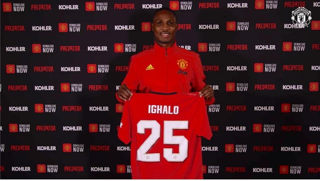 Man United Fans Chant New Song For Odion Ighalo During Watford Win