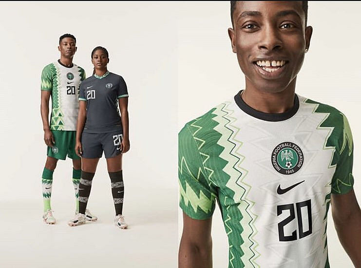 Nigeria's New Football Jerseys Turn Heads On Social Media