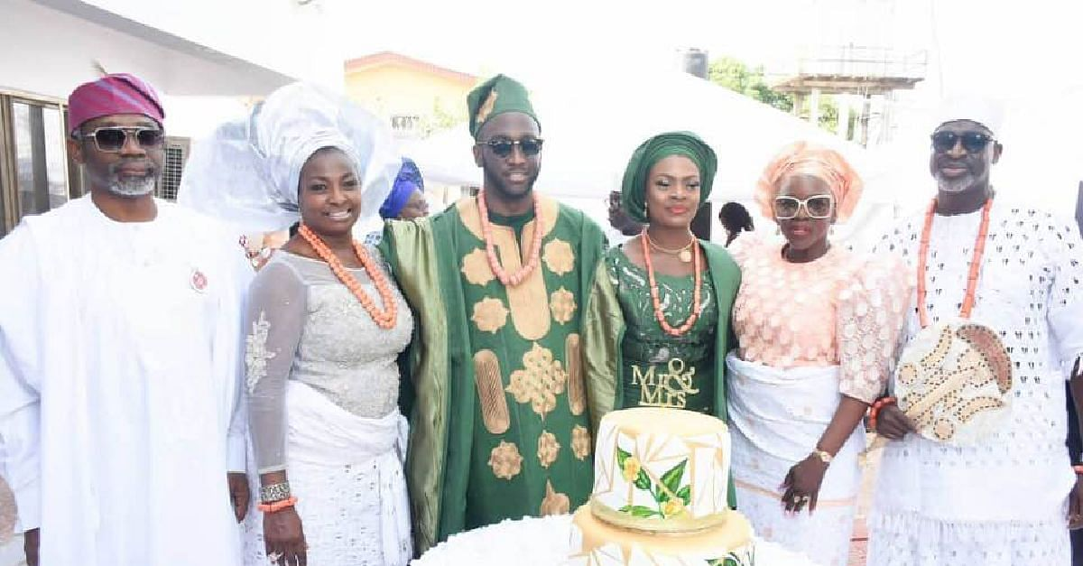 Wedding of Uchenna Ogeah and Mayowa Awosemo