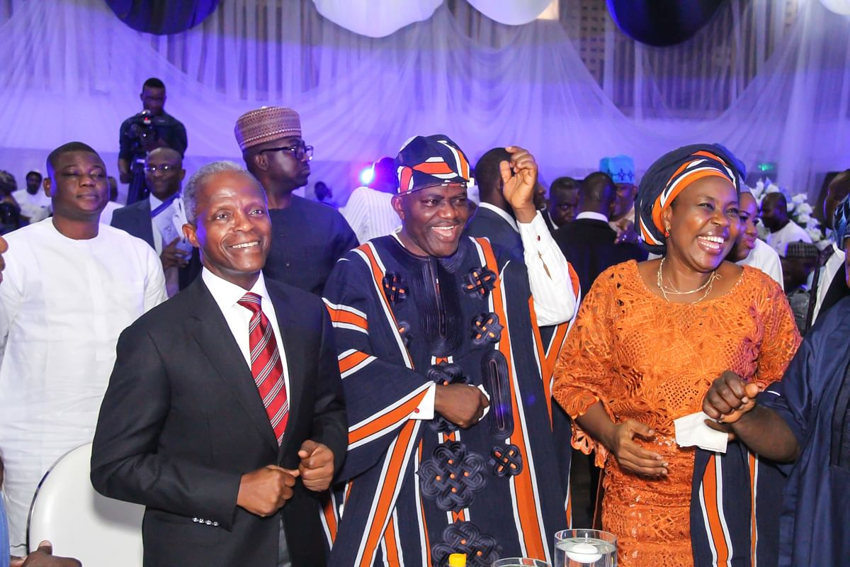 Osinbajo Graces Pastor Adebisi Olowoyo's 60th Birthday