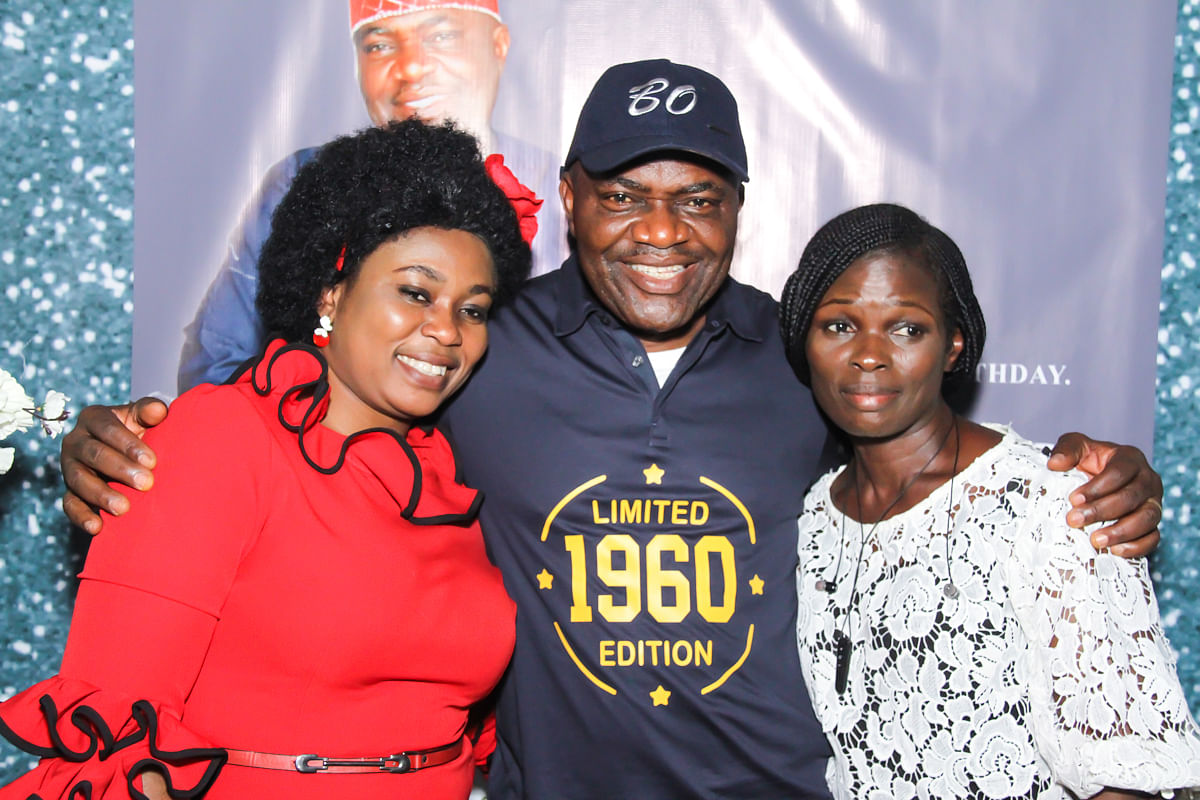 See Photos From Pastor Adebisi Samuel Olowoyo's 60th Birthday