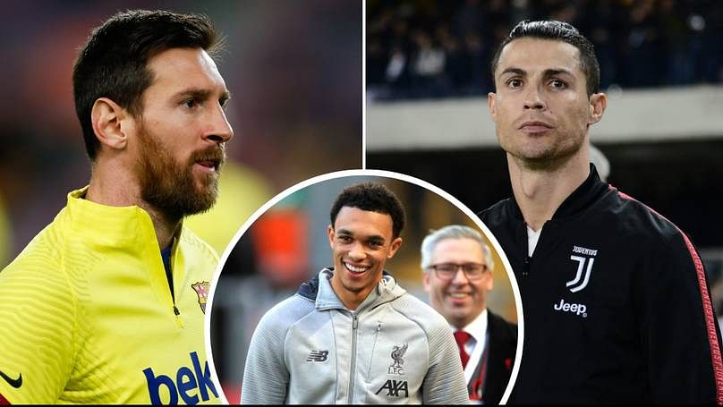 See The Liverpool Star Arnold Picked Ahead Of Messi, Ronaldo