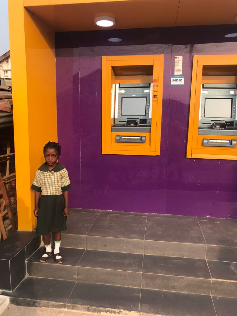 FCMB To Sponsor Girl Found Reading At Their ATM Gallery