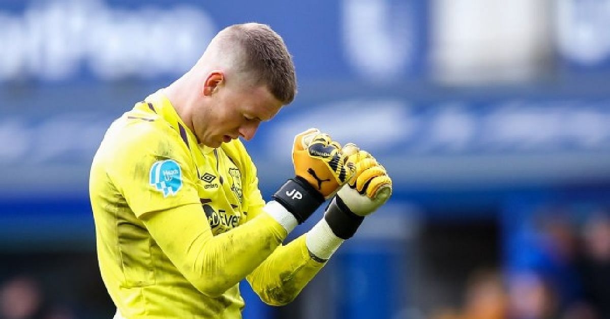 Everyone Hates You If You Are An England Player - Pickford