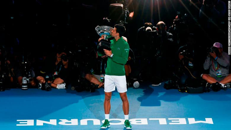 Djokovic With His 17th Grand Slam Title