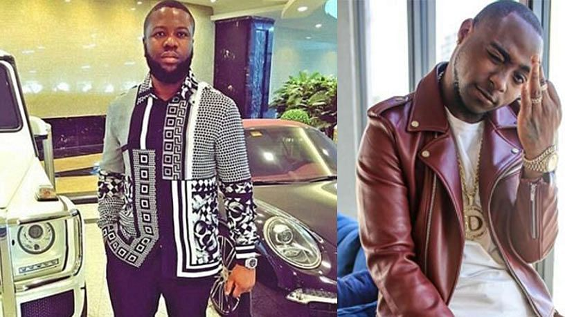 Davido And Hushpuppi Reunite In Dubai