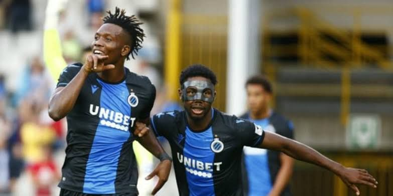 Two Nigerian Strikers Named In Club Brugge's Squad