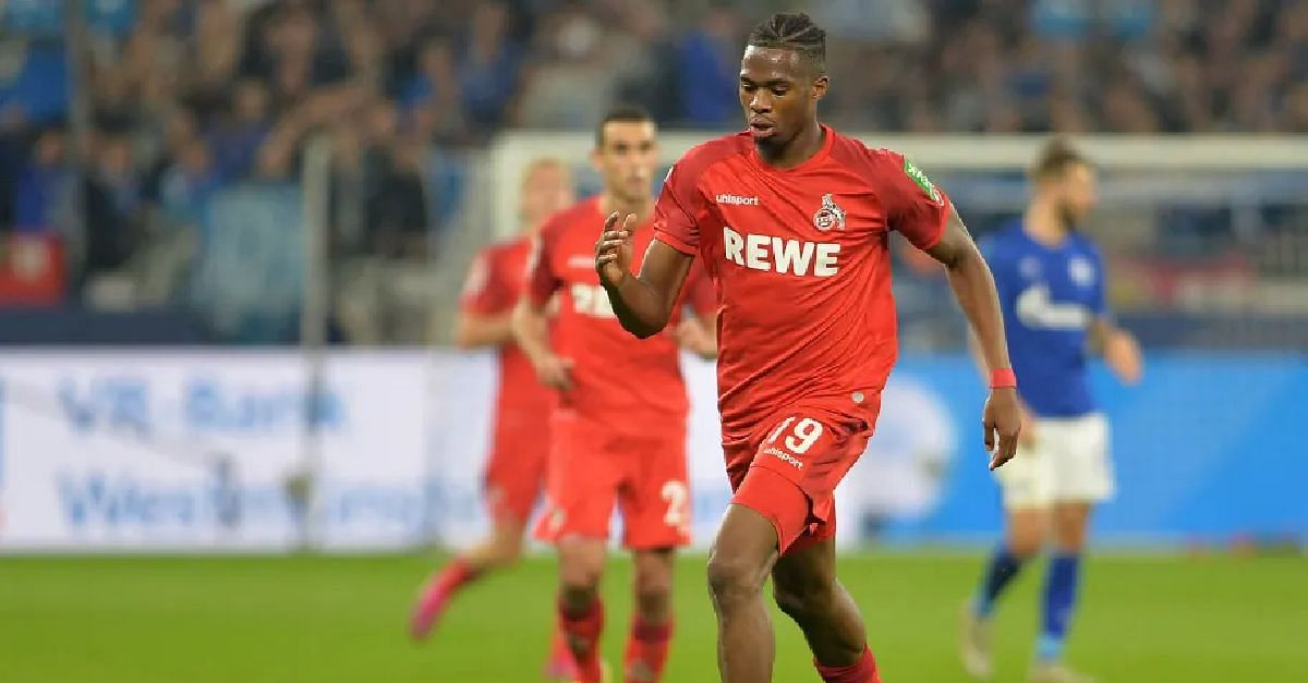 Defender, Ehizibue, Scores First Bundesliga Goal For FC Cologne