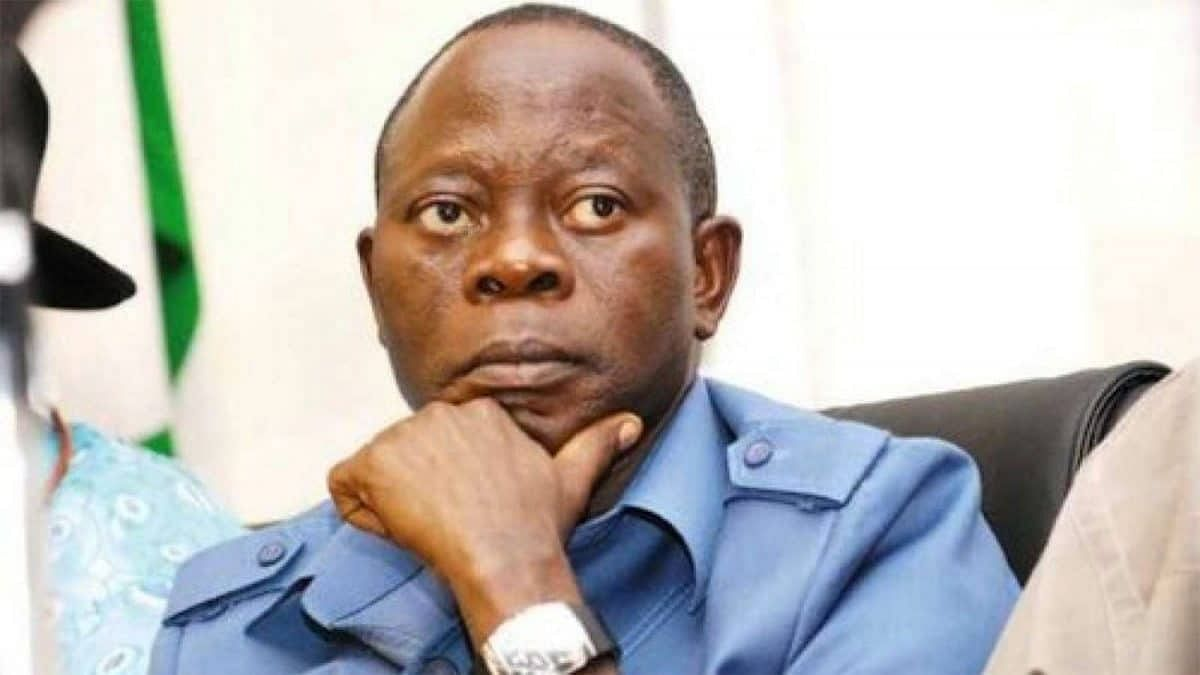"""You Cannot Jail My Fighting Spirit,"" Oshiomhole Boasts"