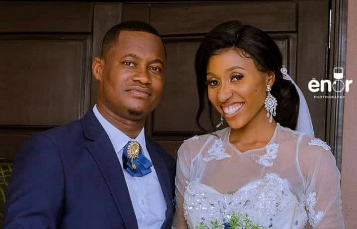 See The Nigerian Couple That Went Viral After Holding White Wedding Without Reception