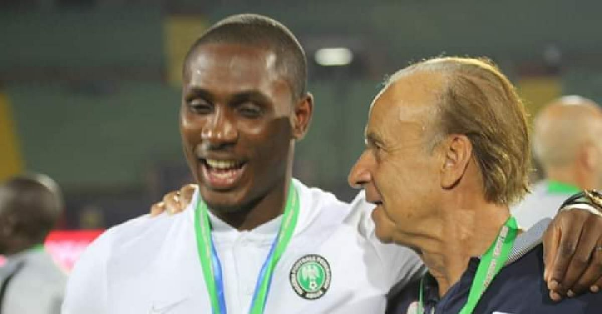 Gernot Rohr Opens Super Eagles Door To Ighalo After United Move