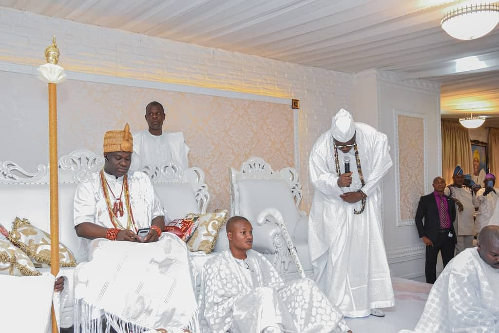 Aare Gani Adams Pays Tribute To Ooni Ogunwusi At Oduduwa Festival