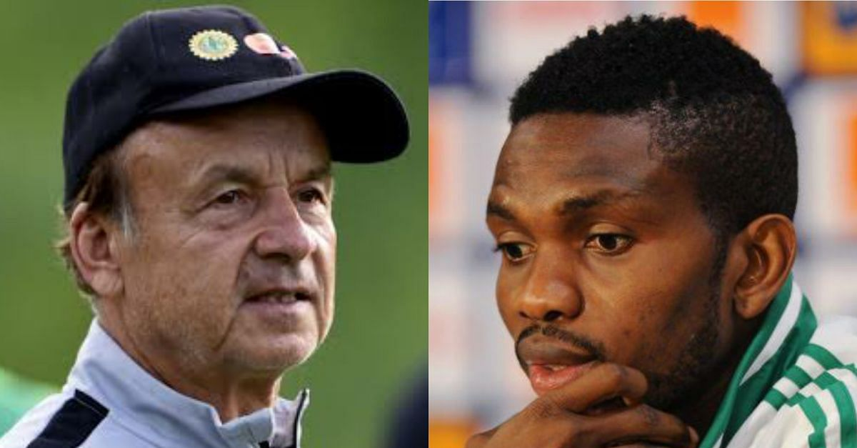 Joseph Yobo Has Not Called Me - Super Eagles Coach Reveals