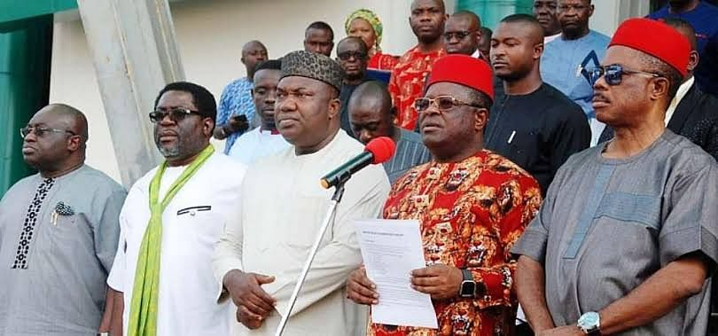 South-East Governors React To Exclusion From FG's N22.7BN Loan