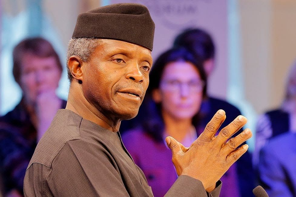 Drop In Global Price Of Crude Oil, A Major Threat - Osinbajo