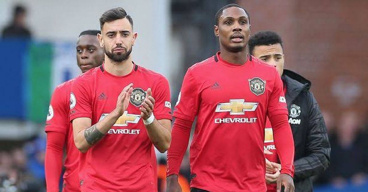 Bruno Fernandes Beats Ighalo To Manchester United Player Of The Month