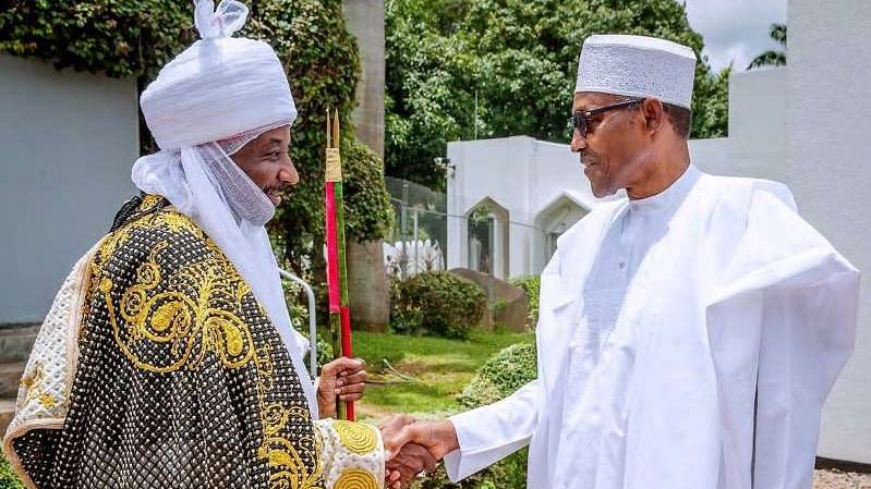 Buhari Denies Involvement In Sanusi's Dethronement